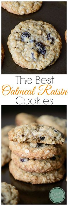 Super simple, soft baked oatmeal cookies loaded with raisins. These cookies are ready in less than 20 minutes!