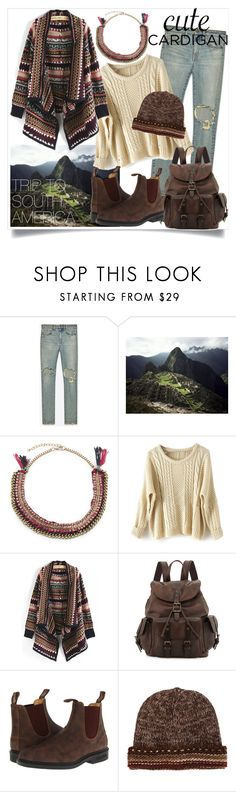 """Untitled #61"" by noamsharabi ❤ liked on Polyvore featuring Yves Saint Laurent, Love Rocks, Frye, Blundstone and Missoni"