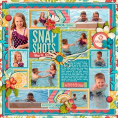#papercraft #scrapbook #layout.  by Cindy