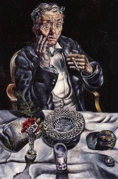 Ivan Albright, Self Portrait on ArtStack #ivan-albright #art