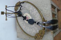 Noa Noa Sumoto Necklace 1-0422-2 in Black £35.00