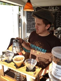 Hemisphere Coffee Roasters -beautiful pour over bar - in Columbus, OH area!