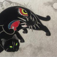 Monmon cats by Horitomo