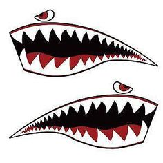 Find great deals on eBay for Shark Teeth Decal in Body Parts. Shop with confidence.
