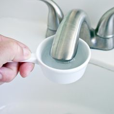 How to Clean Your Faucet   POPSUGAR Smart Living