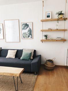 Best Indoor Garden Ideas for 2020 - Modern Living Room Corner Decor, Room Decor Bedroom, Home And Deco, Apartment Interior, Living Room Inspiration, Cheap Home Decor, Living Room Designs, Home Fashion, Interior Design