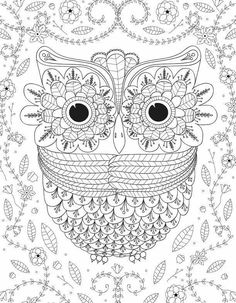 printable coloring pages for adults 15 free designs crafts pinterest free design adult coloring and owl - Printable Owl Coloring Pages For Adults