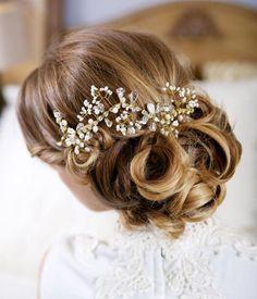Balunz - vi älskar bröllop och bröllopsaccessoarer!: Bröllopsfrisyr