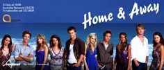 Home and Away - Winner of more Australian TV awards than any other Australian show, Home and Away is set in a fictional town, Summer Bay, on the beautiful coastline of New South Wales, it follows the personal and work lives of the locals. But life is rarely plain sailing or surfing for these hunky lads and hot girls. They face the day to day trials of a 'not-so-sleepy' beachside town, coping with everything from love and lust to tears and tragedies...often in the same episode!
