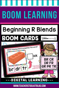 THIS IS AN INTERACTIVE DIGITAL RESOURCE. Download the preview to play a shortened version of the Boom Deck – this will help you decide if the resource is suitable for your students. ABOUT THIS BOOM DECK: Help your students practice R blends with this set of digital task cards. Students will look at the picture clue, then choose the correct blend to complete the word. Students will drag and drop the correct blend, from a choice of 3, into the blank box.
