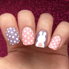 If you want to rock Easter with style, you definitely need to see these easy and simple easter nail art designs. Not just cute and colourful, they& simple Nail Art Designs, Easter Nail Designs, Easter Nail Art, Simple Nail Designs, Holiday Nail Designs, Christmas Manicure, Christmas Nail Art, Holiday Nails, Simple Christmas