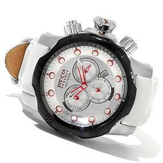 Invicta Reserve Mens Venom Swiss Made Quartz Chronograph Stainless Steel Strap Watch