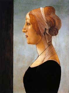 Botticelli.attr.Young woman.c.1481-1485
