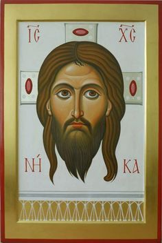 Religious Icons, Religious Art, Paint Icon, Images Of Christ, Face Icon, Best Icons, Byzantine Icons, Orthodox Icons, Lovers Art