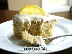 Lemon Crazy Cake #le