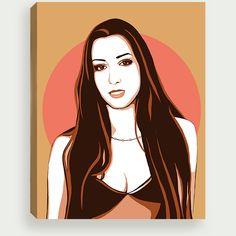 #portrait #DigitalGraphics #art #printables  #photoshop #inspiration pop art