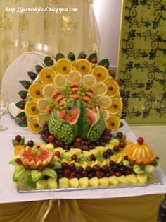 Fascinating fruit carvings images food fruit vegetable