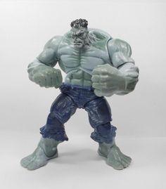 The Incredible Hulk - Grey Hulk - Action Toy Figure - Marvel Universe 2009 Incredible Hulk, Marvel Universe, Lion Sculpture, Action, The Incredibles, Statue, Toys, Grey, Activity Toys