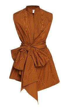 Get inspired and discover Oscar de la Renta trunkshow! Shop the latest Oscar de la Renta collection at Moda Operandi. Taffeta Dress, Poplin Dress, 90s Fashion, Fashion Outfits, Womens Fashion, New Mode, Looks Style, Silk Chiffon, Fashion Sketches
