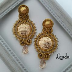 Soutache Necklace, Tassel Earrings, Mo S, Shibori, Beaded Embroidery, Boho Jewelry, Ribbon, Brooch, Jewels