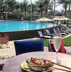 Theres a seat by the pool waiting for you. @giuliettad  #SeaFu #SeaFuDubai #FSDubai #FourSeasons #MyDubai #UAE #Eeeeeats #Brunch #TheArtOfPlating #Chefs #ChefsTalk #ChefsOfInstagram #Dubai #DubaiDining #Asian #Japanese #Cuisine #FineDining #Seafood #Seaside  #فور_سيزونز # فور_سيزونز_دبي #دبي #سي_فو by seafudubai