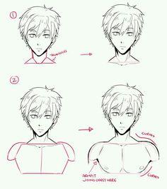 Manga Drawing Tips Drawing Techniques, Drawing Tips, Drawing Sketches, Art Drawings, Drawing Tutorials, Pencil Drawings, Drawing Ideas, Sketching, Body Drawing