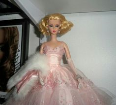 From my personal collection! Barbie silkstone.