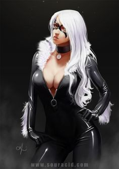 Black Cat by SourAcid.deviantart.com on @DeviantArt