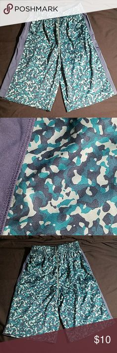 Nike Athletic Shorts Awesome, barely worn, athletic shorts with popular camo pattern. Nike Bottoms Shorts