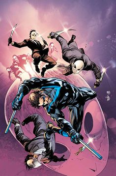 Nightwing #2 - Ivan Reis, Colors: Joe Prado