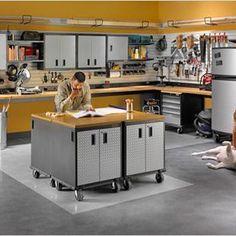 Garage > Home Decorating and Organization Garage Shelving, Garage Storage, Garage Organization, Kitchen Cart, Desk, Furniture, Home Decor, Desktop, Decoration Home