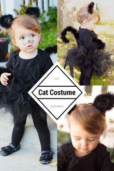 Diy halloween diy costumes diy baby girls halloween costumes diy do it yourself divas diy black cat costume solutioingenieria Gallery