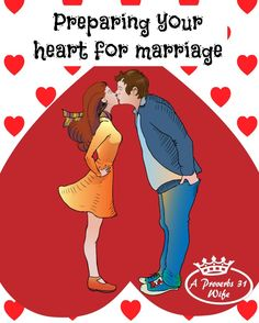Being prepared for marriage starts in the heart.