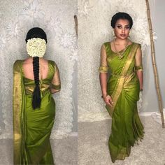 Image may contain: 1 person Bridal Hairstyle Indian Wedding, Indian Bridal Sarees, Bridal Hairdo, Indian Bridal Hairstyles, Indian Bridal Fashion, Indian Beauty Saree, Asian Fashion, Set Saree, Saree Dress