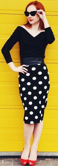 polka dots fashion ♥✤ | Keep the Glamour | BeStayBeautiful