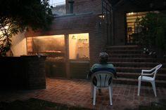 No puede faltar la PARRILLITA en el patio! argentina