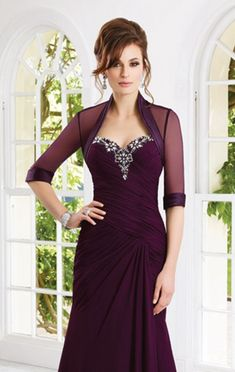 VM Collection 70902 Long MOB Dress with Sheer Bolero. Strapless long Chiffon mother of the bride dress with beading. DISCONTINUED BY DESIGNER Mother Of Groom Dresses, Bride Groom Dress, Mothers Dresses, Bride Gowns, Mother Of The Bride, Brides Mom Dress, Mob Dresses, Dressy Dresses, Fashion Dresses