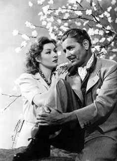 Random Harvest. Oh my goodness, Greer Garson and Ronald Colman, go ahead and rip my heart out, why don't you? What a heartbreaking, hopeful, glorious movie. :) I enjoyed it so much more than I expected to. These two are seriously adorable together.