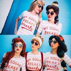❤️My squad breaks hearts❤️ Disney princess style.