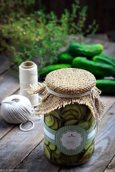 Translation to English in comments. Canning Syrup, Canning Jars, Canning Recipes, Wine Recipes, Marinated Cucumbers, Pickling Cucumbers, Canned Food Storage, Scandinavian Food, Cucumber Recipes
