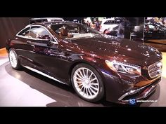 2016 Mercedes-Benz S-Class Coupe S65 AMG V12 - Exterior, Interior Walkaround - 2015 LA Auto Show - YouTube