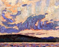 Morning Tom Thomson - 1915