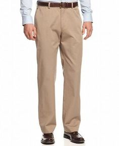 f38a1dcf54 Haggar NEW Taupe Beige Mens Size 38X30 Dress - Flat Front Pants $50 #107  Casual