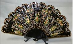 Beautiful Spanish Fan  -  Mine came from Madrid.