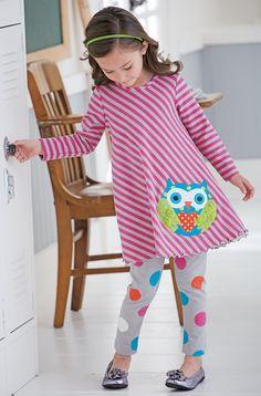 From CWDkids: Owl Stripe Tunic & Leggings