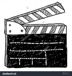 stock-vector-doodle-style-movie-set-clapperboard-vector-illustration-90394210.jpg (1500×1600)