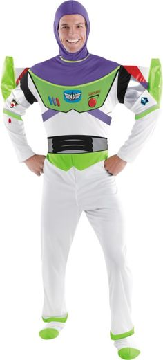 Buzz Lightyear Costume Deluxe for Adults - Party City