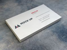 Realistic Business Card MockUp #Businesscard #Mockup #Psd #Free