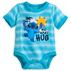Stitch Disney Cuddly Bodysuit for Baby @lapu_lapu
