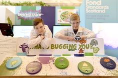 Food Standards Scotland put food safety and healthy eating on the menu at Edinburgh Inte...
